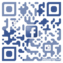 QR code with logo 1BJ70