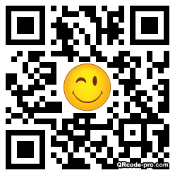 QR code with logo 1BMX0