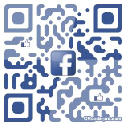 QR code with logo 1BNA0