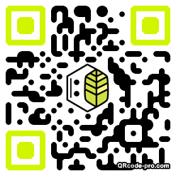 QR code with logo 1BOK0