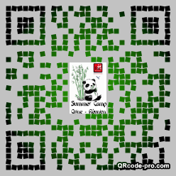 QR code with logo 1BSV0