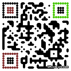 QR code with logo 1BV20