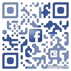 QR code with logo 1BVD0