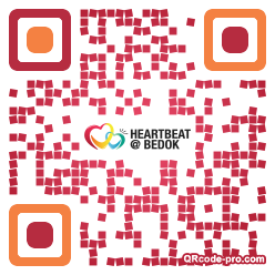QR code with logo 1BZZ0