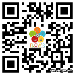 QR code with logo 1Ba00