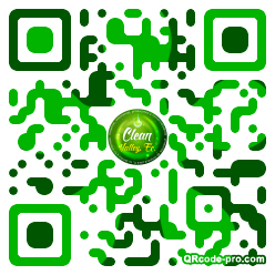 QR code with logo 1Be60