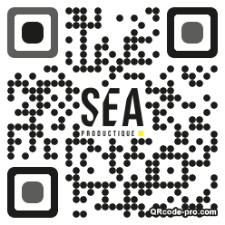 QR code with logo 1Bhz0