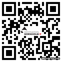 QR code with logo 1Bzr0