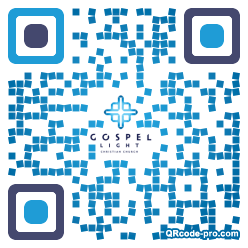 QR code with logo 1C3t0