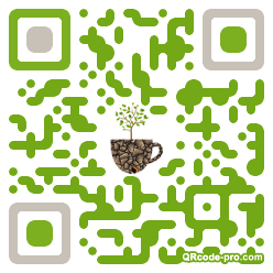 QR code with logo 1C480