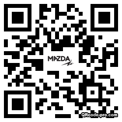QR code with logo 1C580