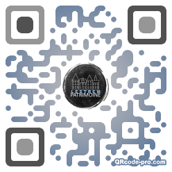 QR code with logo 1C980