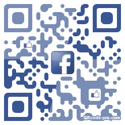 QR code with logo 1CAD0
