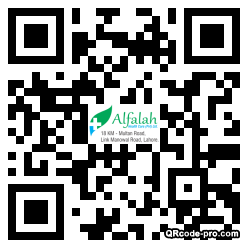 QR code with logo 1CQs0