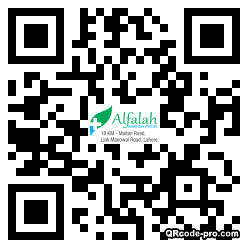 QR code with logo 1CVS0