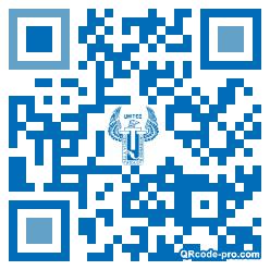 QR code with logo 1CcA0