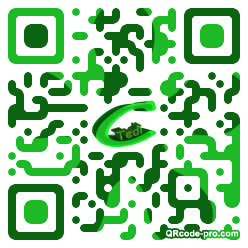 QR code with logo 1CdQ0