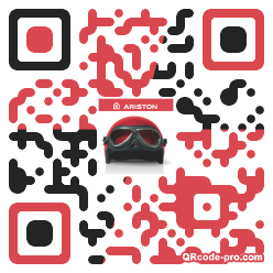 QR code with logo 1CkM0