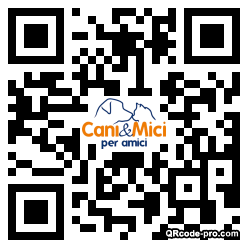QR code with logo 1Cm80