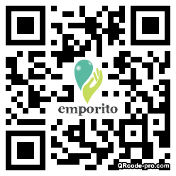 QR code with logo 1CoD0