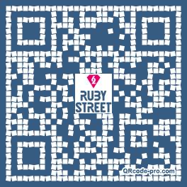 QR code with logo 1Cu70