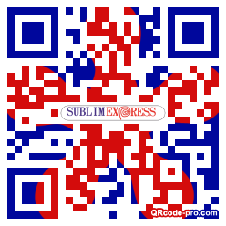 QR code with logo 1CuX0