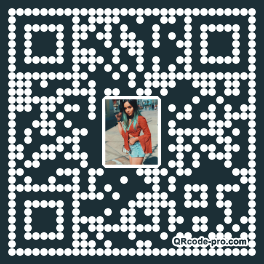 QR code with logo 1D020