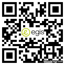 QR code with logo 1D910