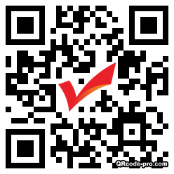 QR code with logo 1D9T0