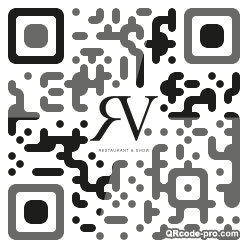 QR code with logo 1DGh0