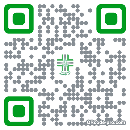 QR code with logo 1DKR0