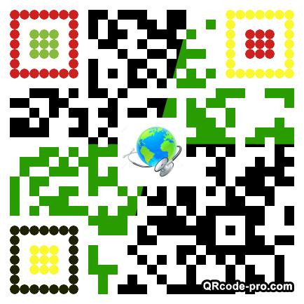 QR Code Design 1DPF0