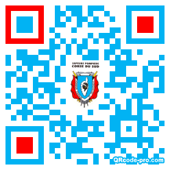 QR code with logo 1DS10