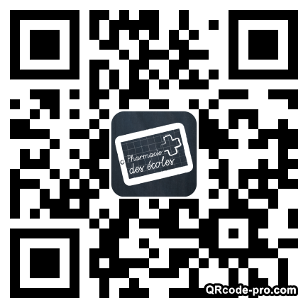 QR code with logo 1DTP0