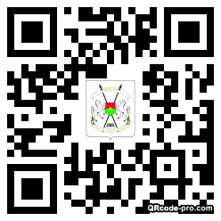 QR code with logo 1DTc0