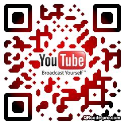 QR code with logo 1DXD0