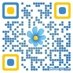 QR code with logo 1DZR0