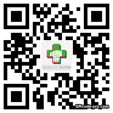 QR code with logo 1Dc10