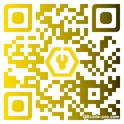 QR code with logo 1Dce0