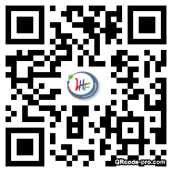 QR code with logo 1Dfr0