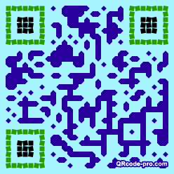 QR code with logo 1Dhx0