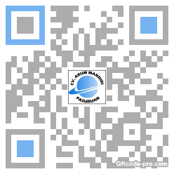 QR code with logo 1DmS0