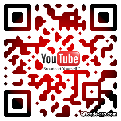 QR code with logo 1Dnf0