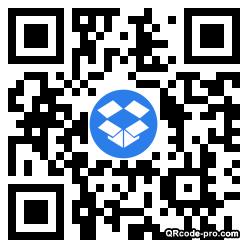 QR code with logo 1Dp60