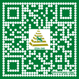 QR code with logo 1DsR0