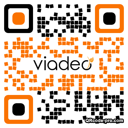 QR code with logo 1DtJ0