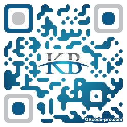 QR code with logo 1Dwl0