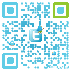 QR code with logo 1DyI0