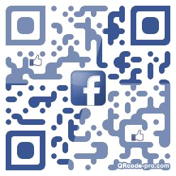 QR code with logo 1E1b0