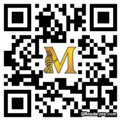 QR code with logo 1E2M0